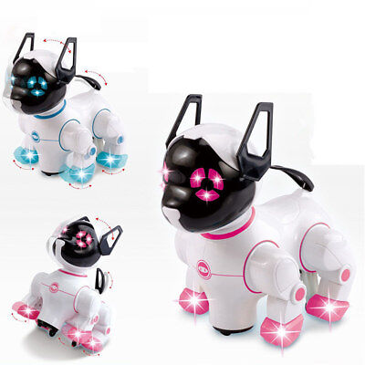 Electronic Dog Toy Robot Robotic Music Walking Interaction Childs Puppy Pet Toy