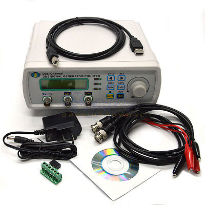 12MHZ DDS Dual Channel waveform signal generator frequency meter signal source