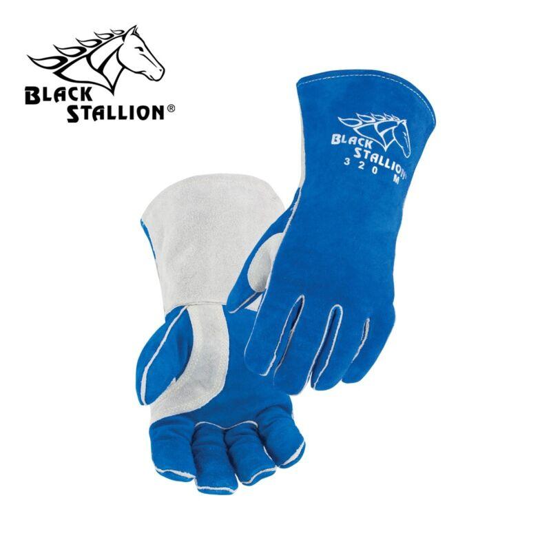 Revco Black Stallion Comfort-Lined Cowhide High-Qualit Stick Welding Gloves 320