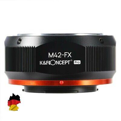 K&F Adaptador Pro, M42 Lentes Sobre Fujifilm DSLR, Fuji X Monte, X-Pro2,...