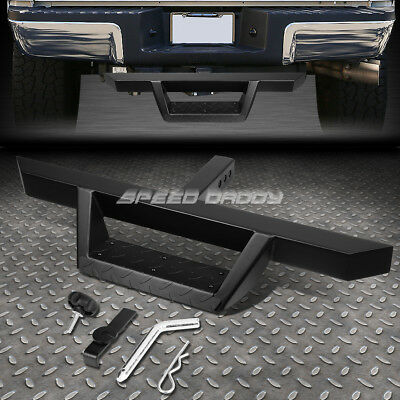 FOR 2 RECEIVER UNIVERSAL 325X 225 BLACK TRAILER TOW HITCH STEP BARPINCLIP