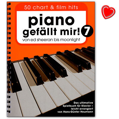 Piano gefällt mir! 50 Chart und Film Hits - Band 7 - BOE7879 - 9783865439758