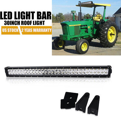 30 Roof Led Light Bar For 2000 2600 3000 3600 3610 4000 5000 7000 Ford Tractor