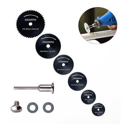 Circular Saw Disc Set Rotary Wood Cutting Blade Tool Dremel-Accessory Mini -