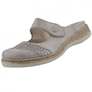 NUEVO-Rieker-Zapatos-mujer-sandalias-Calzado-Sabot-ZUECOS-Mocasines-Sandalias