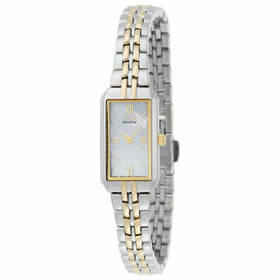 (Citizen Eco-Drive EG2694-59D Women's Dress MOP Dial Two-Tone Bracelet 15mm Watch)