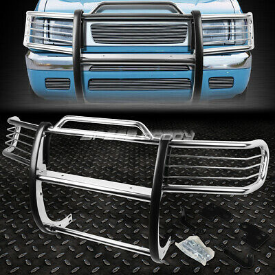 FOR 98-00 NISSAN FRONTIER/XTERRA CHROME STAINLESS STEEL FRONT BUMPER GRILL GUARD