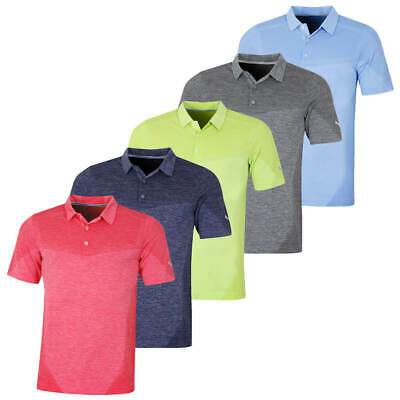 Puma Golf Mens Evoknit Seamless Stretch dryCell Polo Shirt Top 46% OFF RRP