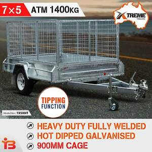 New 7x5 900MM Galvanised Box Trailer with ATM 1400KG – XTREME Fairfield Fairfield Area Preview