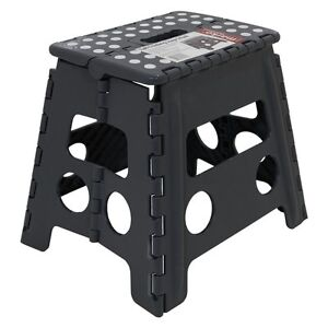 13-33CM-Step-Stool-Portable-Plastic-Folding-Foldable-Chair-Store-Flat-Outdoor