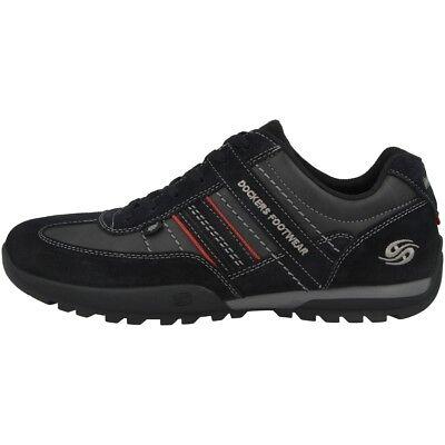 Dockers by Gerli 36HT001 Schuhe Herren Sneaker Schnürschuhe black 36HT001-204100 ()