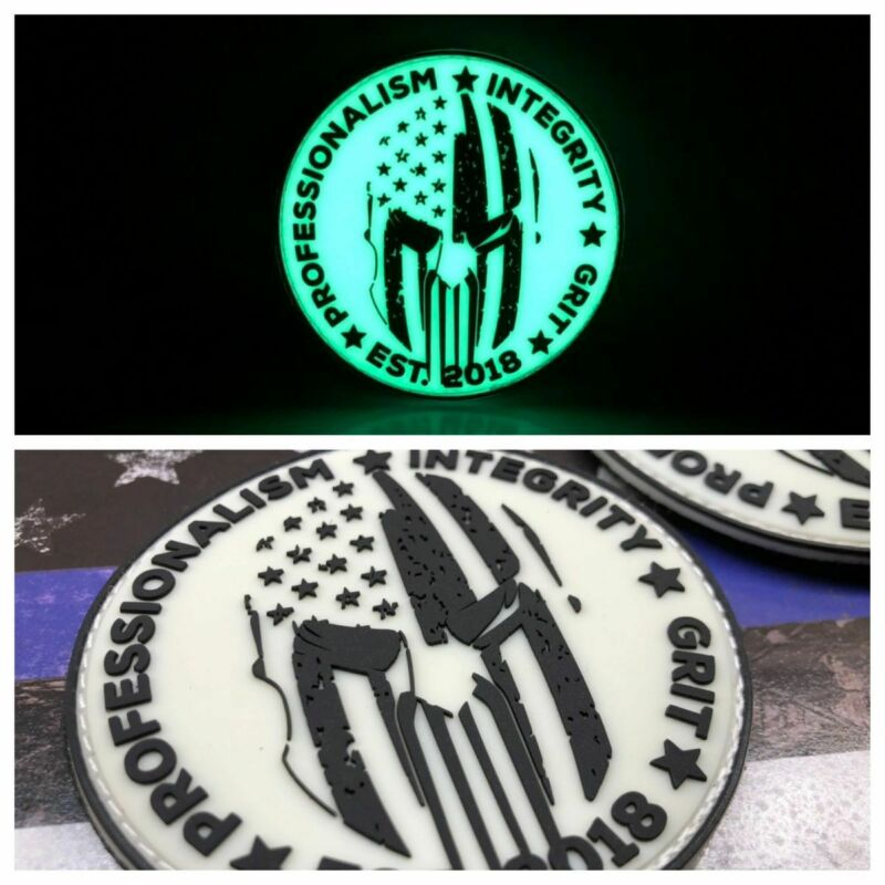 Glow in the Dark PIG Life logo Patch