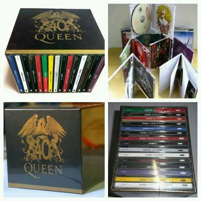 The Queen 40th Anniversary 30 CD Box Set Album Full HIT Collection NEW Edition!