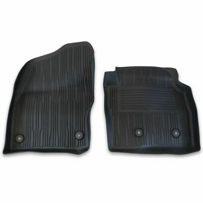 Car Parts - Genuine Ford Transit Connect Front Rubber Floor Mats Tray Style Black 2263239