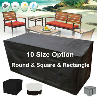 Garden Furniture - 10Size Garden Patio Furniture Table Cover Waterproof Rectangular Outdoor
