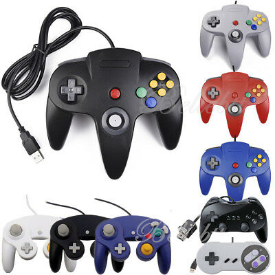 N64 Gamecube - Gaming Controller Joystick For Retro N64 / SNES / Wii /Gamecube GC /Wii U Games