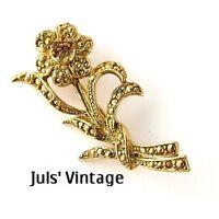 Spilla Vintage Anni'30 Lega ''trifanium''oro,topazi 2 Color:uso E Collezionismo -  - ebay.it