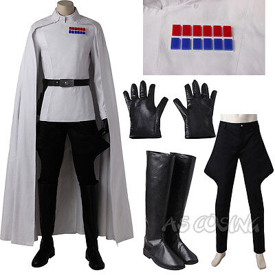 Rogue One: A Star-Wars Story Director Orson Krennic Cosplay Costume Custom Made](Director Costume)