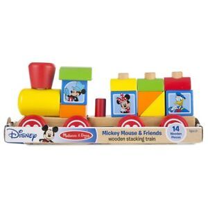 Melissa and Doug Mickey Mouse stacking train