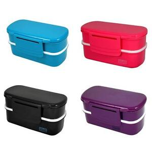 bento box food kitchen storage ebay. Black Bedroom Furniture Sets. Home Design Ideas