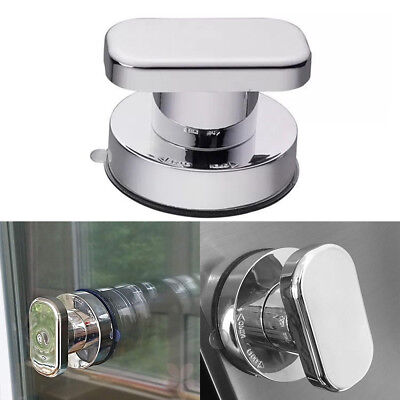 - Strong Suction Cup Drawer Glass Mirror Door Pull Knobs Toilet Bathroom Handles