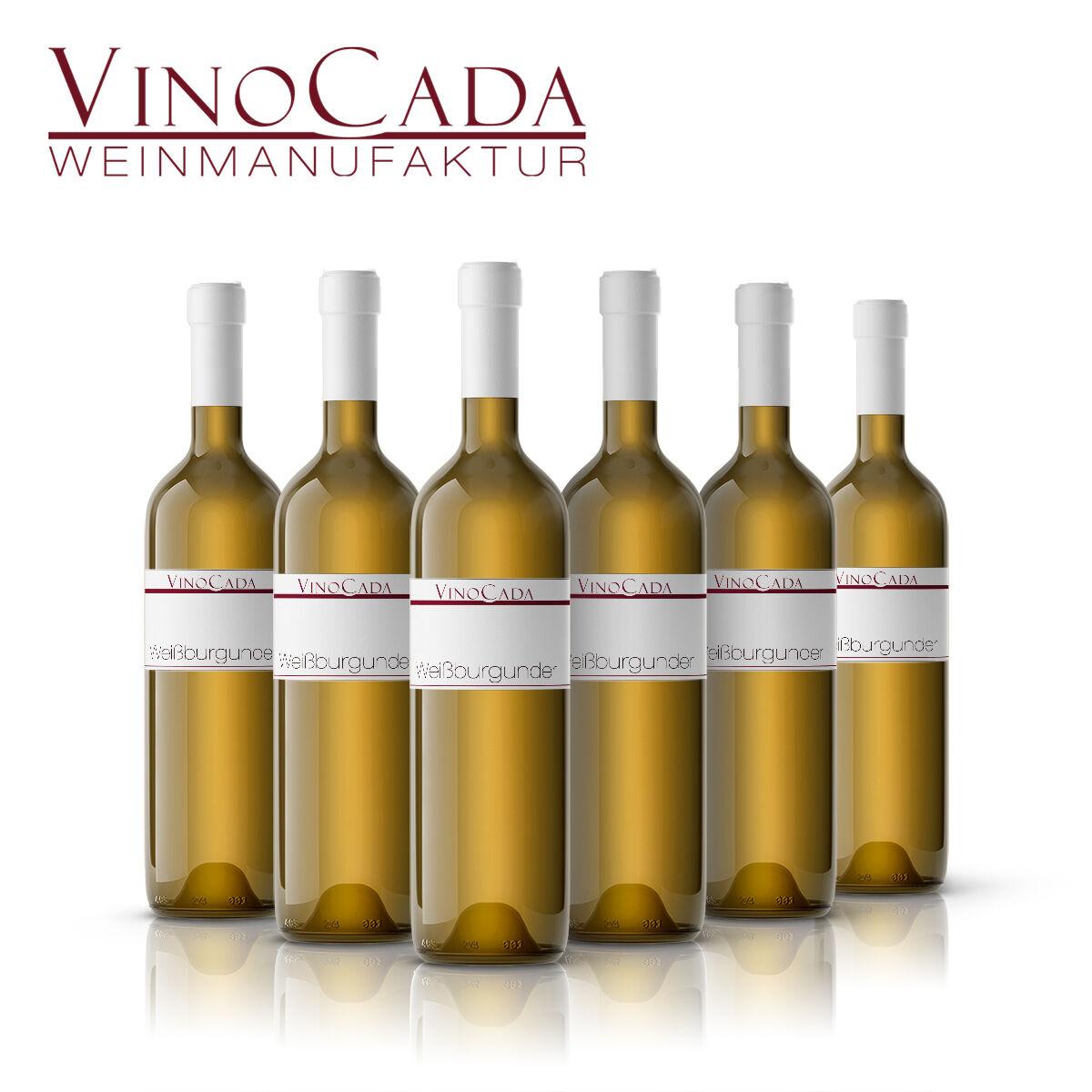 Weinpaket Weißburgunder Spätlese weiß 36 Fl. 0,75L trocken **silber* VinoCada