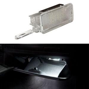 eclairage boite a gant led blanc citroen peugeot 207 207cc. Black Bedroom Furniture Sets. Home Design Ideas