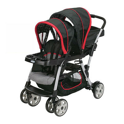 Graco Ready2Grow Double Seated Click Connect Stroller ...