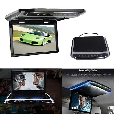 """10.2"""" 1080P HD Car Roof LCD Color Proctor FM Video HDMI SD Card Atmosphere Lamp"""