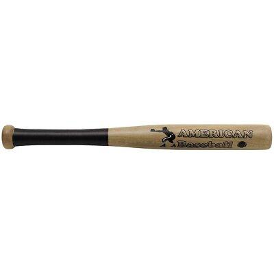 American Baseball Bat Holz naturfarben Mini-Baseballschläger 18 Zoll 46 cm