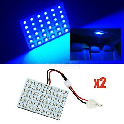 2X BRIGHT BLUE 36-1210-LED DOME MAP INTERIOR LIGHT BULB SMD PANEL XENON HID LAMP