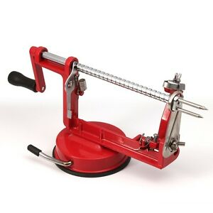 Apple-Slinky-Machine-Peeler-Corer-Potato-Fruit-Cutter-Slicer-Kitchen-Tool-Red