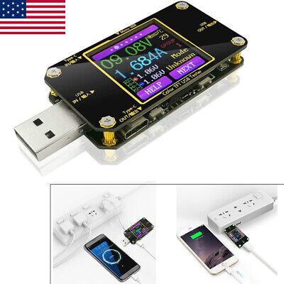 Usb Charger Doctor Multimeter Voltmeter Ammeter Amp Voltage Tester Lcd Display