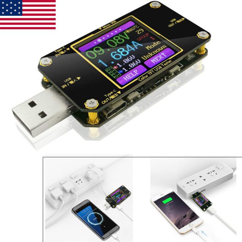 USB Volt Current Tester Digital Multimeter Type-C PD Ammeter Detector Voltmeter