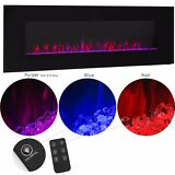 "50""  1500W Adjustable Heat Electric Wall Mount Fireplace Heater 110v"