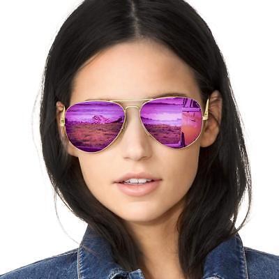 SODQW Aviator Sunglasses for Women Polarized Mirrored, Popul