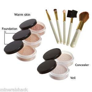 Mineralshack-natural-mineral-make-up-Matte-10-piece-set-full-cover-foundation