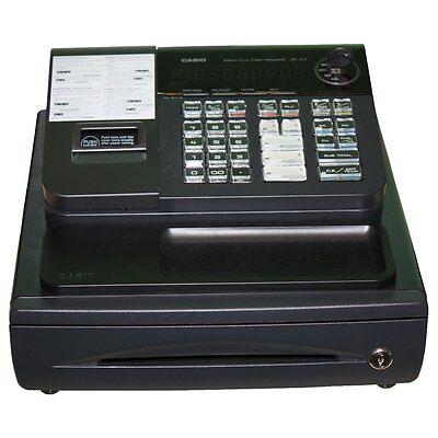 Bondruck der SHARP XEA-107 (kein Text möglich)                             Casio SE-G1 kein GDPdU möglich
