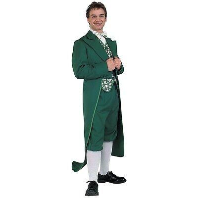 Leprechaun Costume Adult Irish Green Suit with Coat Tails St. Patrick's Day - Leprechaun Suit