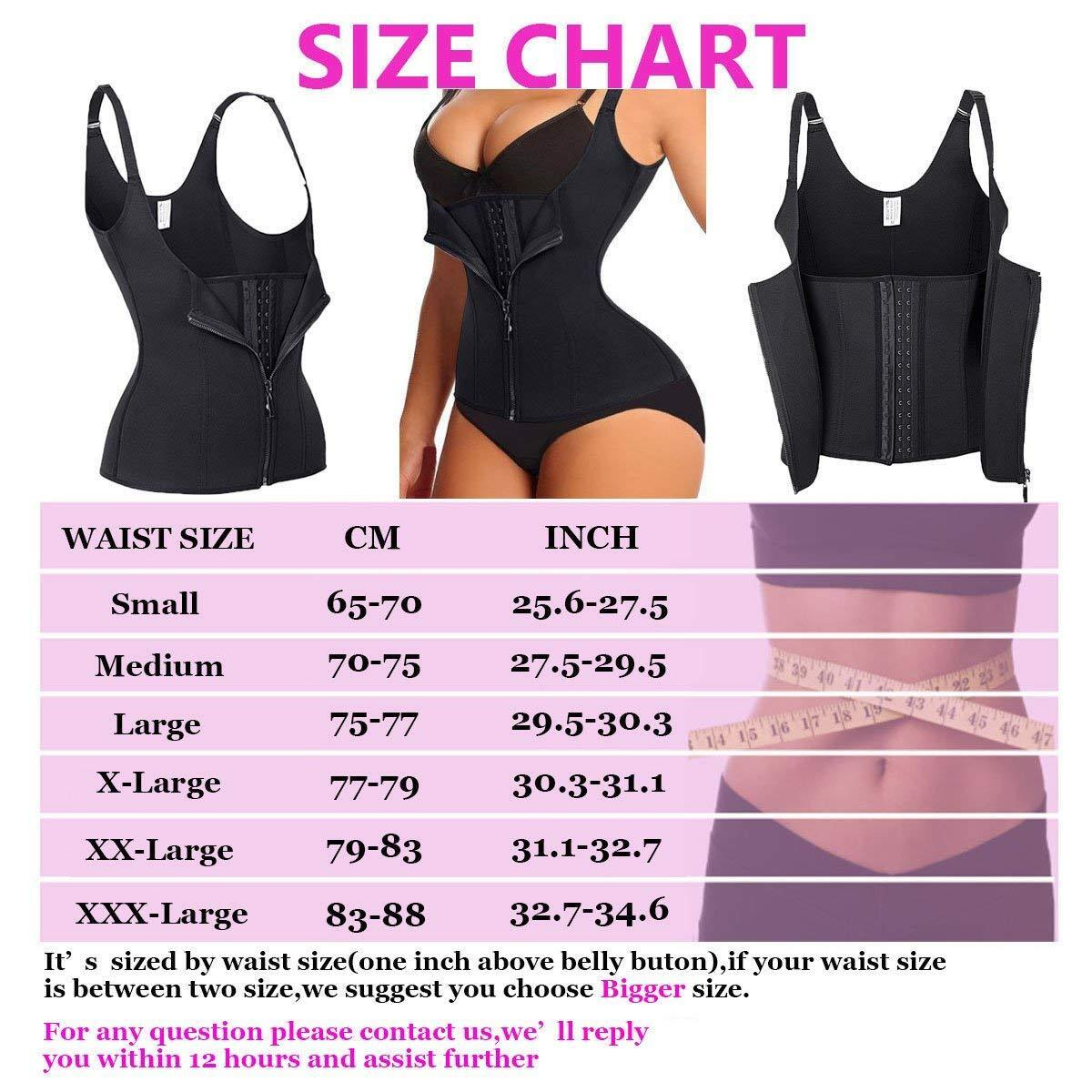 Sauna Waist Trainer Corset Vest Women Shapewear Tummy Control Body Weight loss Clothing, Shoes & Accessories