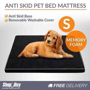 **  Pet Memory Foam Mattress Dog Bed Small Cat Sleep Mat Black Brisbane City Brisbane North West Preview