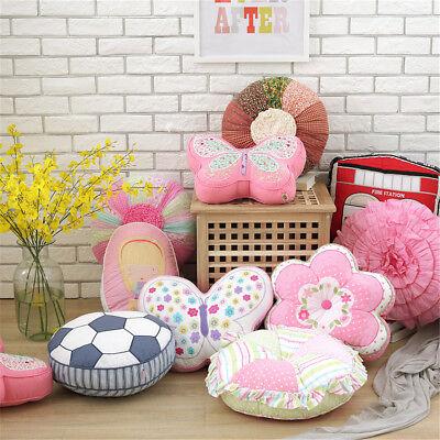 Cartoon Cotton Baby Pillow Cushion Kids Room Bed Sofa Car Pl