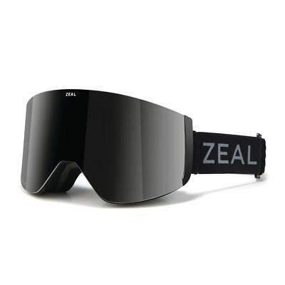 e0cb01d7db4 Zeal Hatchet Goggles Dark Night Dark Grey + Sky Blue Mirror