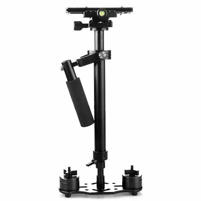"S60 Handheld Steadicam/Camera Stabilizer 24""/60cm with Quick Release Plate New"