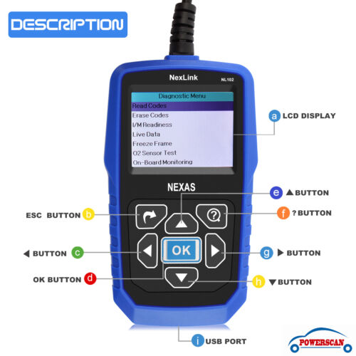 O2 Sensor Live Data: Heavy Duty Diesel Truck Diagnostic Scanner Reset HD-OBD