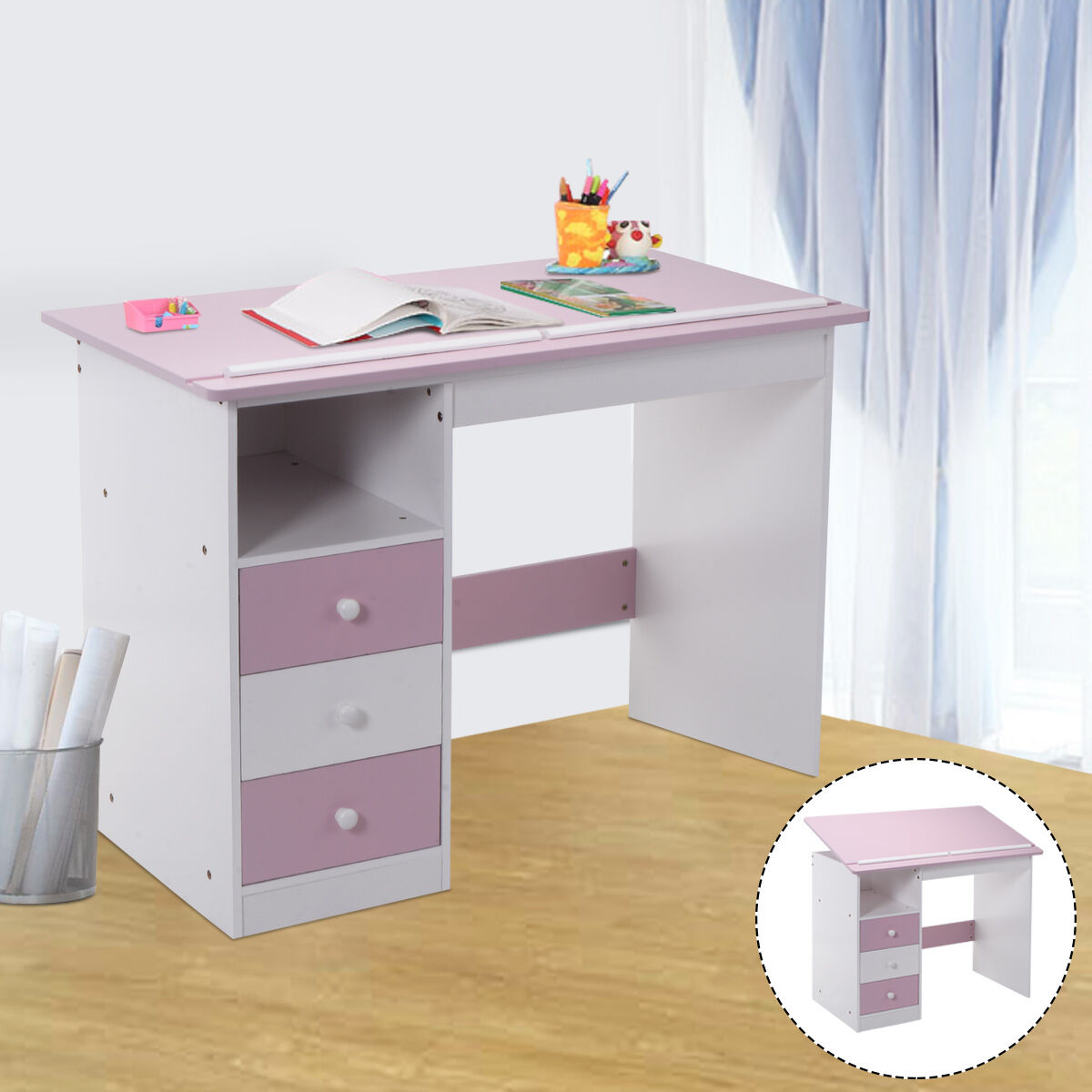 Top 10 Best Kids' Desks - YouTube