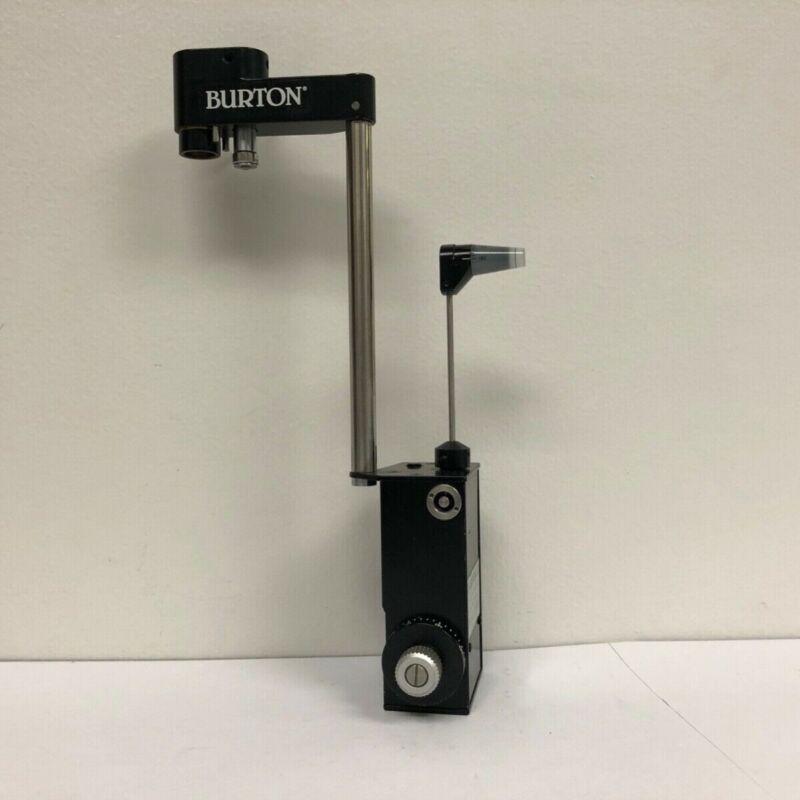 Burton Haag-Streit Style Goldmann Applanation Tonometer + Biprism Lens (tested)