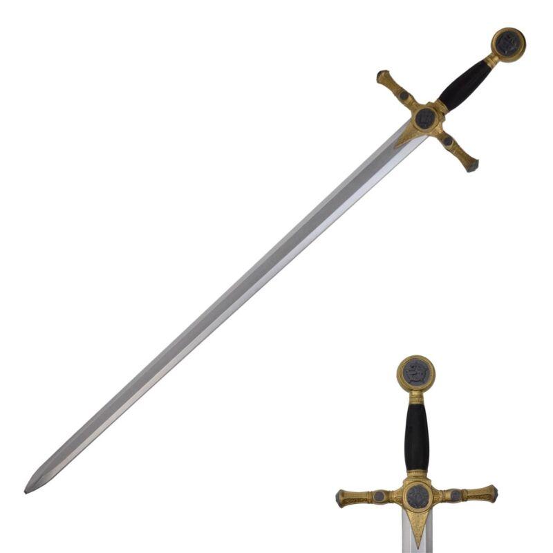 Foam Medieval Mason Sword Cosplay/LARP Weapon Costume Accessory Movie/Play Prop