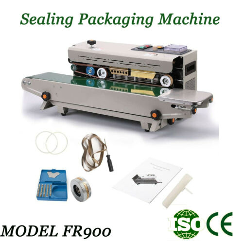 Automatic Sealers & Sealing Machines FR900Film Bag Continuous Sealing Machine CE