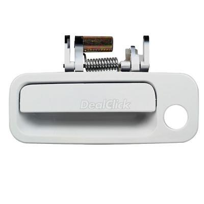 For 97-01 TOYOTA CAMRY Exterior Outer White Front Left Driver Side Door (01 Toyota Camry Door Handle)